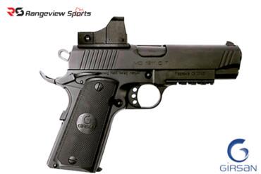 Girsan MC 1911 Compact Pistol Red Dot Combo, 45 ACP 4.25″ Barre Rangeviewsports Canada