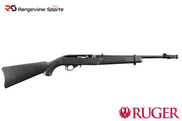 Ruger 10:22 Takedown Rifle, 22LR 16.4″ Threaded Muzzle w:Flash Hider Rangeviewsports Canada