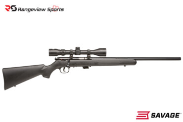 Savage Mark II FVXP Rifle w:Mounted Scope, 22 LR 21″ Barrel Rangeviewsports Canada