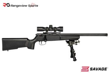 Savage Rascal Target XP Youth Bolt Rifle w:Mounted Scope and Bipod, 22 LR Rangeviewsports Canada4