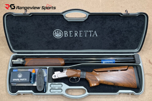 Beretta 692 Trap Shotgun with Adjustable Stock, 3 12Ga 30 Barrel Rangeviewsports Canada