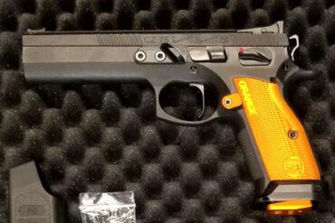 CZ Tactical Sport Orange Pistol, 9mm 5.23″ Barrel Rangeviewsports Canada
