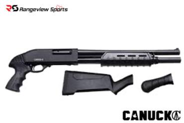 Canuck Enforcer 12 Gauge Pump Action Shotgun, 3″ Chamber, 17″ Barrel Rangeviewsports Canada