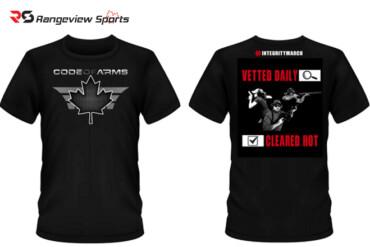 Code of Arms T-Shirt – Black Rangeviewsports Canada