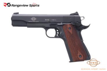 GSG 1911 Pistol, Standard Wood 22LR Rangeviewsports Canada