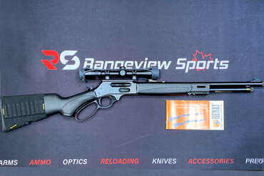 Henry X Model Lever Action Rifle w:Mounted Scope, 45-70 Gov Rangeviewsports Canada