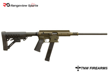 TNW Ae ro Survival Rifle 9mm, ATI Collapsible Stock – OD Green Rangeviewsports Canada