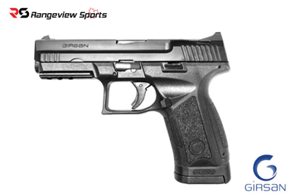Girsan MC9 Standard Pistol, 9mm 5″ Barrel Rangeviewsports Canada