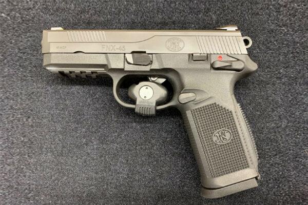 FN FNX-45, .45 ACP – Black Rangeviewsports Canada