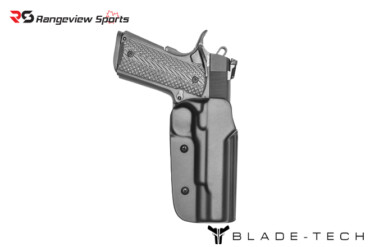 Blade-Tech Classic OWB Holster 1911, 5″ Government w:rail – Right Hand rangeviewsports canada