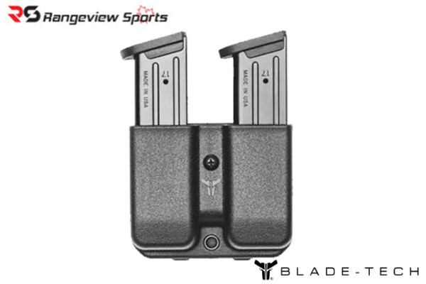 Blade-Tech Holsters Signature Double Mag Pouch – GL 9-40 – ASR- rangeviewsports canada