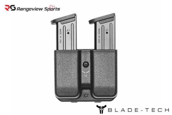 Blade-Tech Signature Double Mag Pouch GL 10:45 w: Tek-Lok rangeviewsports canada